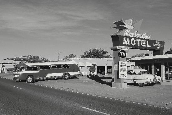 Blue Swallow Motel: The Blue Swallow is a treasure on Route 66, and a glimpse into America's travel history.