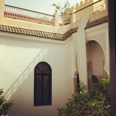 Riad Aguerzame: Roof Terrace and Balcony