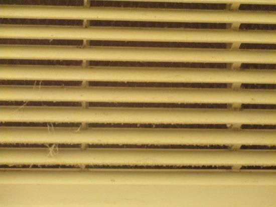 1st Interstate Motel : A/C vent