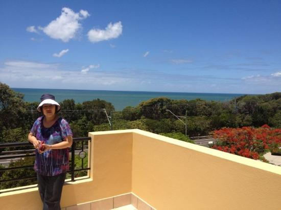 The Point Coolum Beach: View from the balcony, apartment 48