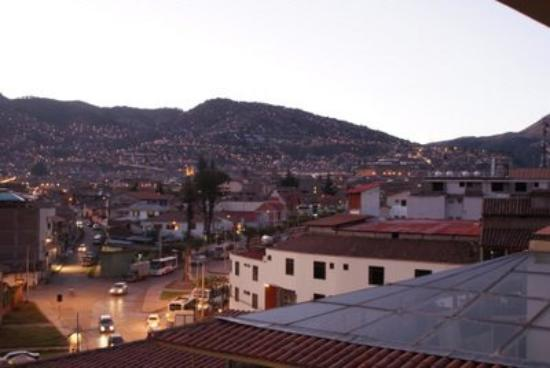 Hotel Jose Antonio Cusco: view from my room