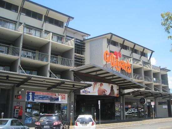 Gilligans Backpackers Hotel & Resort : 入口