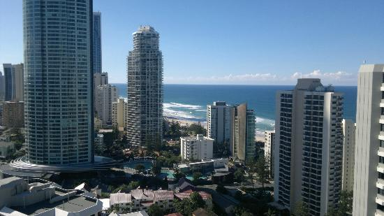 Artique Surfers Paradise: views from room