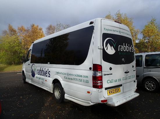 minibus picture of rabbie 39 s day tours edinburgh tripadvisor. Black Bedroom Furniture Sets. Home Design Ideas