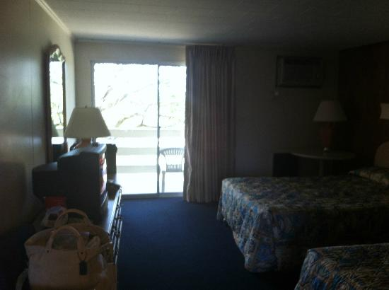 Seashore Park Inn: The room