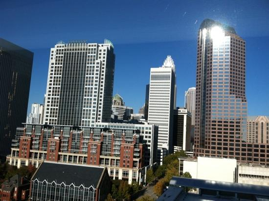 Westin Charlotte: view of charlotte from our 14th floor room
