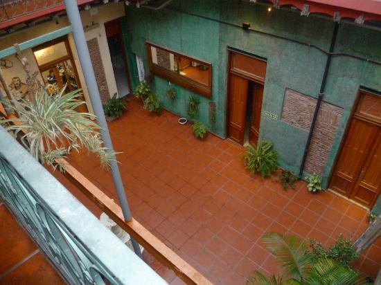 Hotel Parada: Hall desde la habitacion