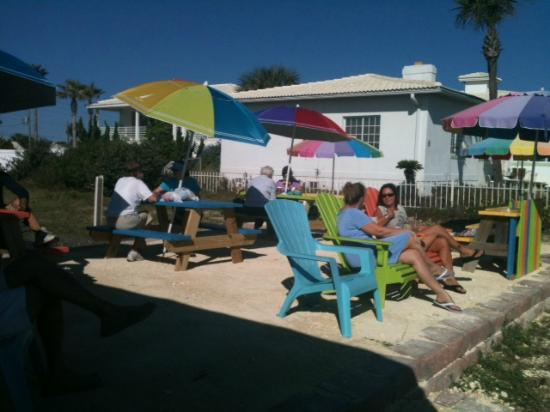 Flagler Beach, Флорида: Our new patio