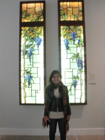 University of Michigan Museum of Art : With some Art Nouveau windows