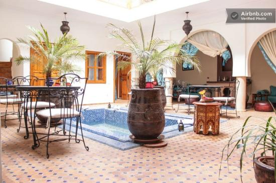 Riad Kalinka Lotus: piscine