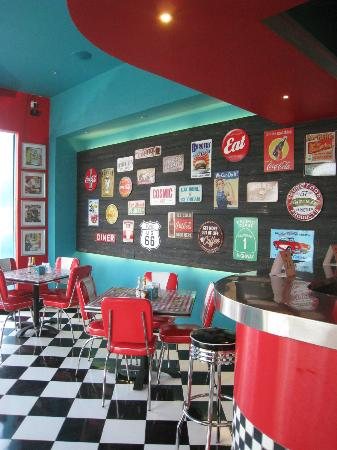 Great Wall Of Tin Signs Picture Of Cosmic Diner Bali