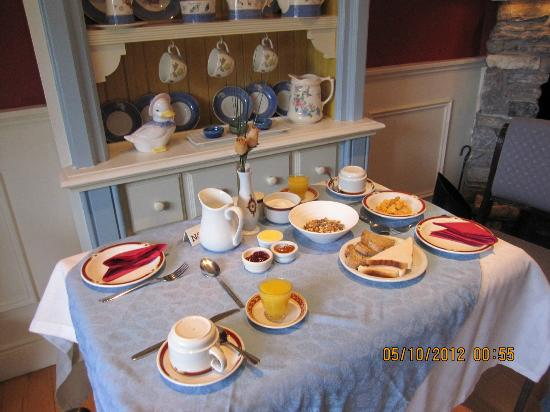 Orchard House: Lovely breakfasts