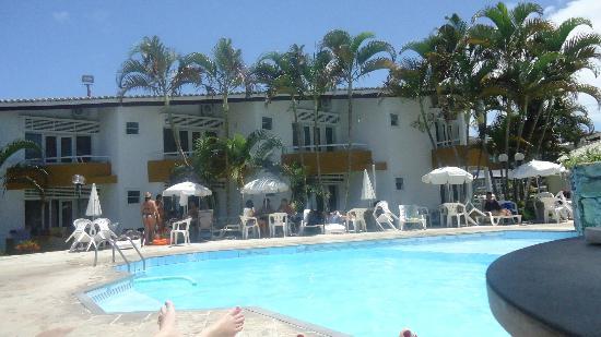 Bosque do Porto Praia hotel: Vista dos apartamentos