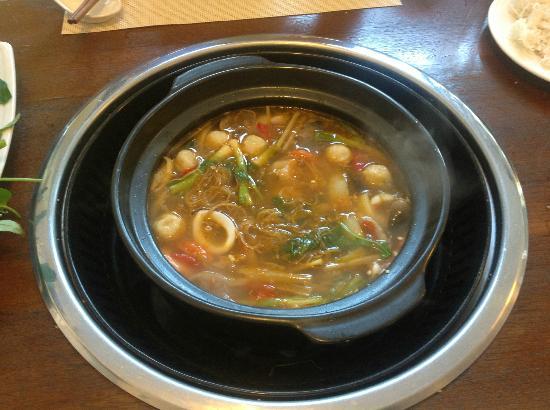 Aroma: Seafood hotpot dopo