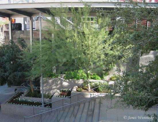 CityScape Phoenix: Stairway-east side of CityScape-1st St.