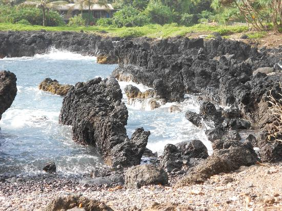 Road to Hana Tours: Lava shore line