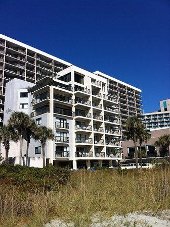 Long Bay Resort: We were in the 5th floor unit, on the right.
