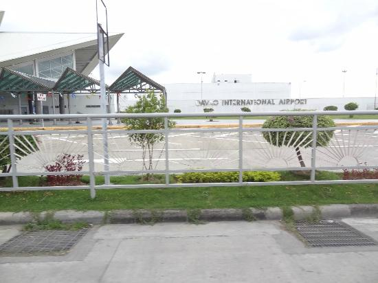 Davao City, Filipinas: Davao International Airport