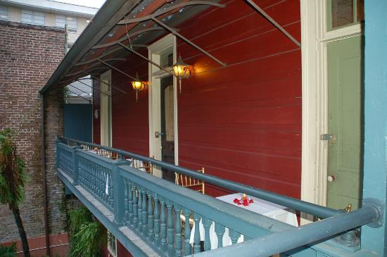 Margaret Gardens Inn: Balcony