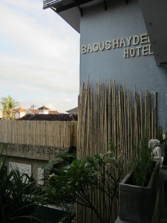 Bagus Hayden Hotel: Balcony
