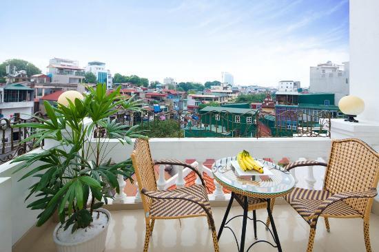 The Landmark Hanoi Hotel : City view