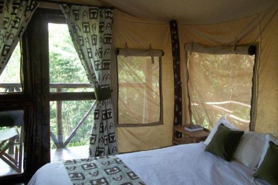 Aberdare Cottages Dream: The luxury tented lodge