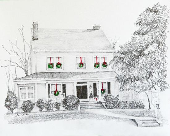 Grey Swan Inn Bed and Breakfast: Holiday - Artist's View