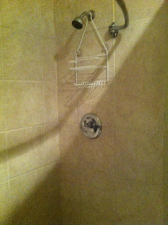 Sole Inn and Suites: tiled shower stall