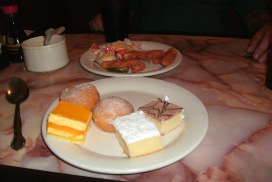 Hibachi Grill: dessert