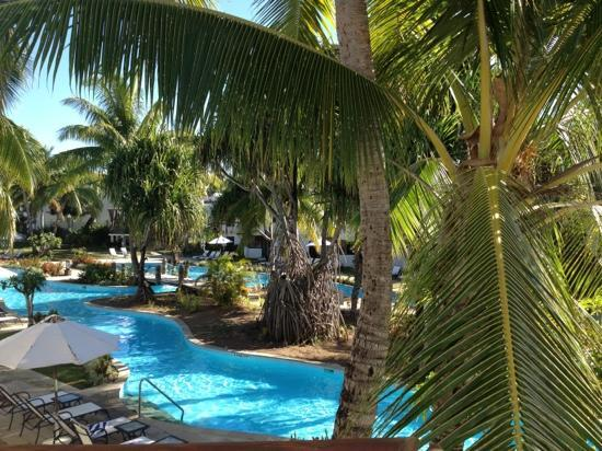 Sheraton Denarau Villas: view from our villa