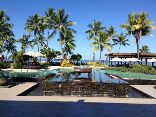 Sheraton Denarau Villas: another pool at the connected Sheraton