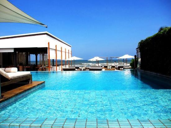 Putahracsa Hua Hin: Private pool at Oceanside Beach Club & Restaurant