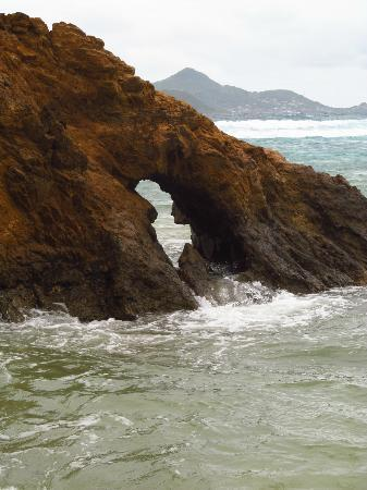 Palm Island Resort & Spa: the bridge beach