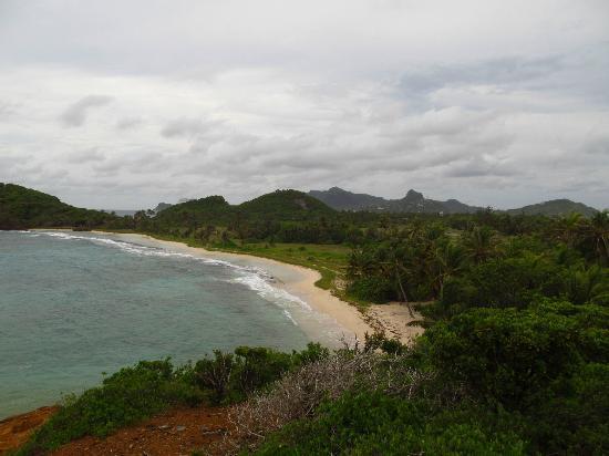 Palm Island Resort & Spa: view from Goat Ridge