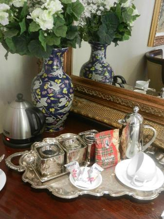 The Oasis Boutique Hotel: Lovely complimentary hot beverages