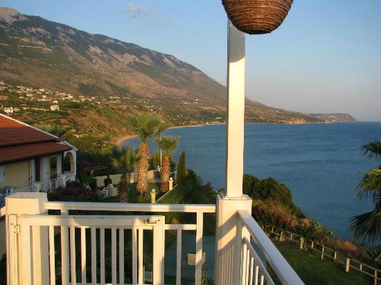 Villa Rosa: Balcony view from room