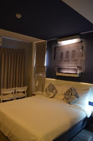 Sino Inn Phuket : The bed