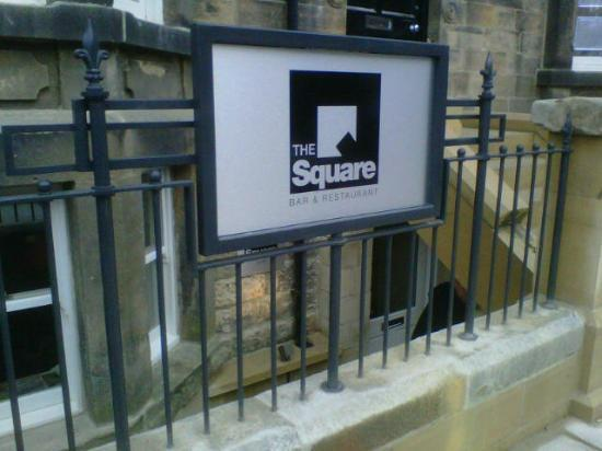 The Square Bar & Restaurant: External view
