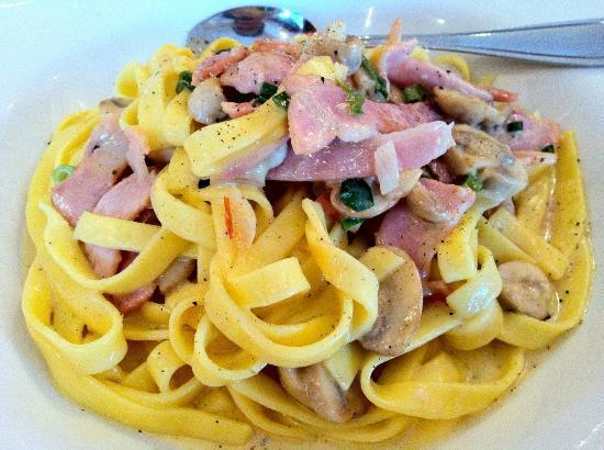 Cafe Jolly: Fettucini Boscaiola