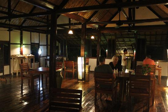 Lao Spirit Resort : Dining room