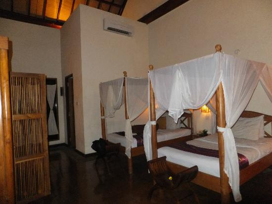 Junjungan Ubud Hotel and Spa: Bedroom