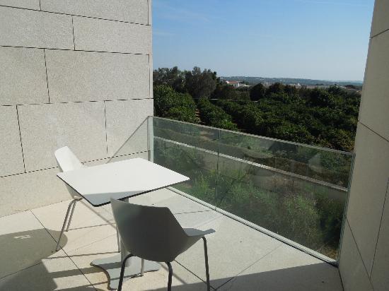 Pousada Palacio de Estoi: View from our balcony