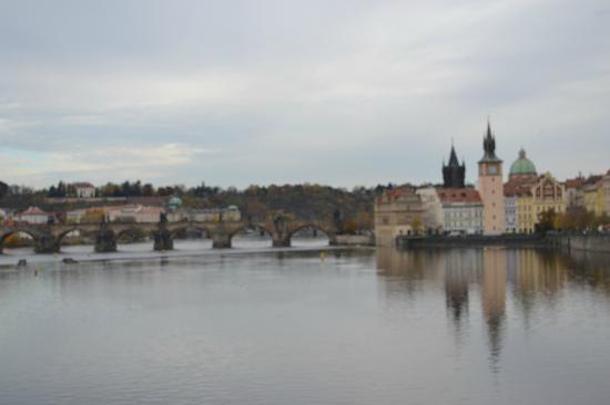Unitas Hotel: мост