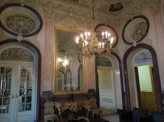 Pousada Palacio Estoi: Internal common room