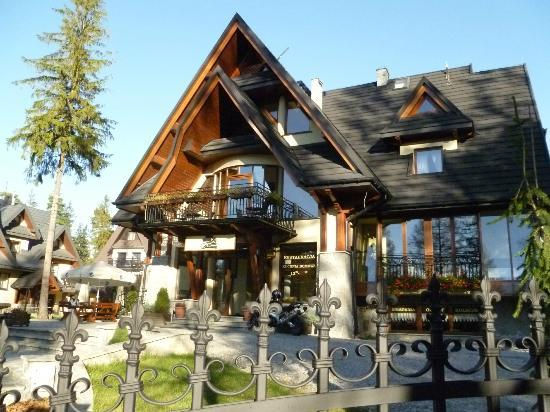 Willa Pod Skocznia: Hotel front