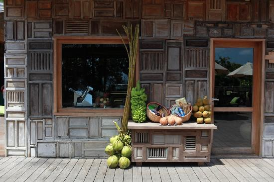 Six Senses Con Dao: The bakery shop at Six Senses offers free home-made ice cream.