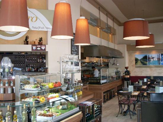 Il Mercato Pasta Haus: Frontcooking im Il Mercato Düsseldorf