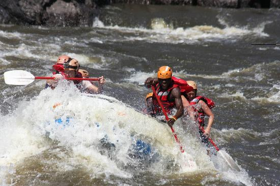 Gorges and Little Gorges Lodge : White water rafting - this activity can be arranged for our guests