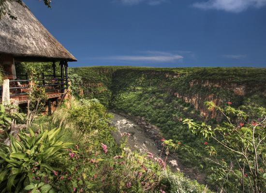 Gorges and Little Gorges Lodge: The spectacular view from your room