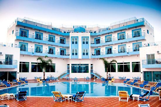Hotel Beach View : facade
